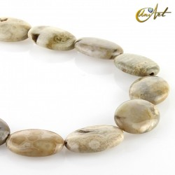 Oval Ocean Jasper Beads