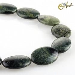 Jasper kambaba - oval beads
