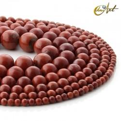 Bolas de jaspe rojo
