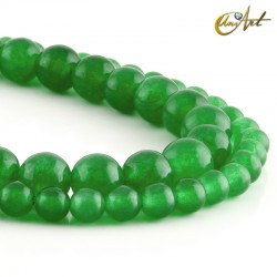 Jade verde - bolas