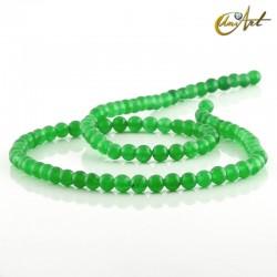 Jade verde - bolas 4 mm