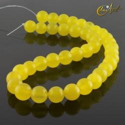 Jade amarillo - bolas 10 mm