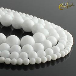 Bolas de jade blanco
