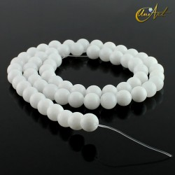 Jade Blanco - bolas 6 mm