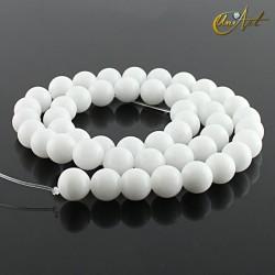 Jade Blanco - bolas 8 mm