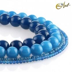 Blue jade balls