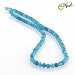 Jade azul – bolas 4 mm