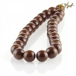 Jade marrón – bolas