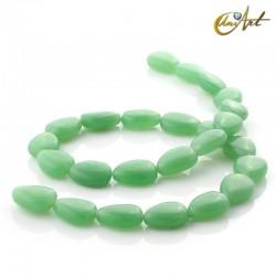 Jade verde - talla pera 16 mm.