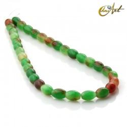 Jade bicolor - talla aceituna