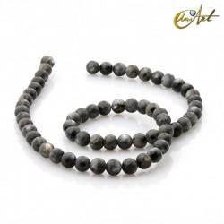 Natural labradorite 6 mm beads