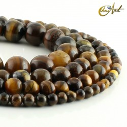 Round Beads of  Tiger Eye