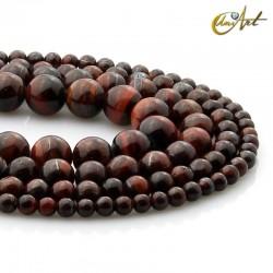 Bull eye round beads