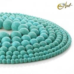 Bolas de turquesa sintética