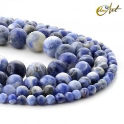 Round Sodalite Beads