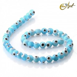 Ojo Turco azul claro - cuentas 8 mm