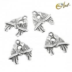Pájaros - abalorio (13 uds)