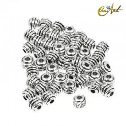 Striped balls, 55 pcs