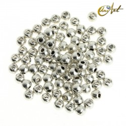 Smooth spherical metal bead (70 units)