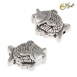 Cuentas pez - abalorios (6 uds)