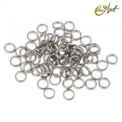 Spring type ring